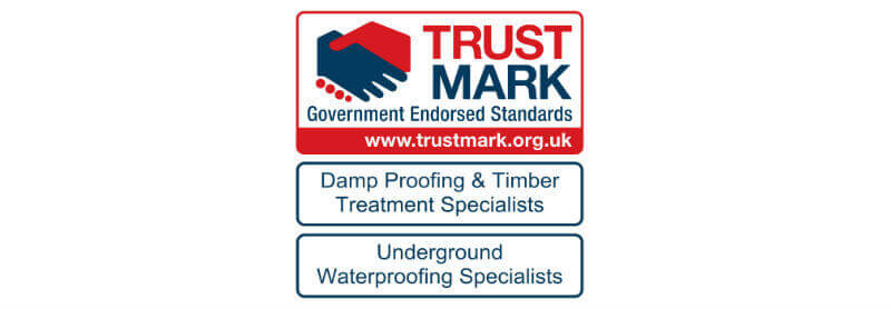 Damp proofing company Swindon trust mark