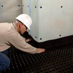 Basement waterproofing in Bath